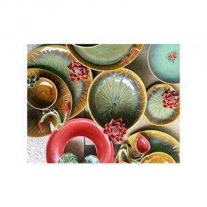 Ceramic Platters Red 23
