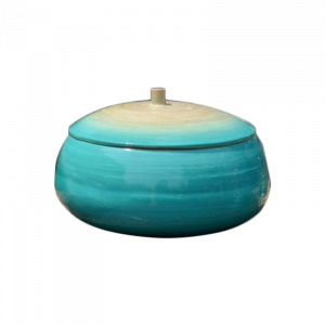Bamboo Bowl With Lid