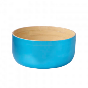Bamboo Bowl Blue Large