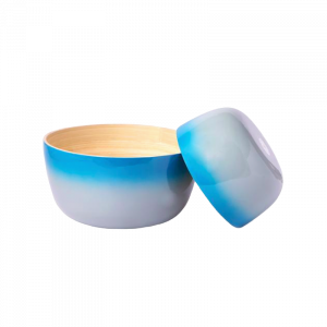 Bamboo Bowl Blue 2 Set