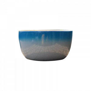 Bamboo Bowl Large Blue/White