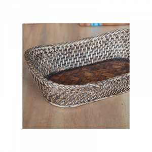 Cane Brown Baskets Long