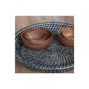 Cane Oval Baskets