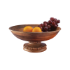 Beaded Fruit Bowl Pedestal
