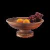 Beaded Fruit Bowl Pedestal