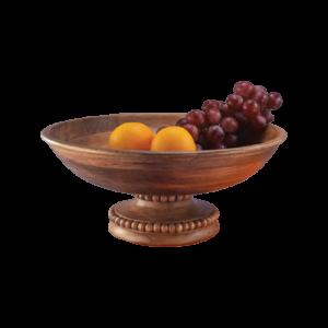 Beaded Fruit Bowl- Pedestal