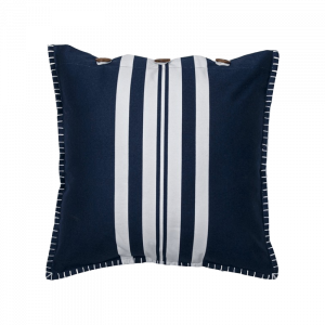 Greece Nautica Stripes Cushion 18×18