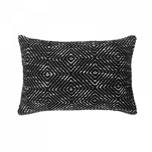 Morocco Black Cushion 12×18