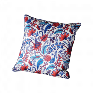 Feather and Flower Cushion 16×16