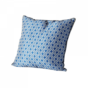 Blue Square Cushion 16×16