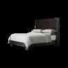 Morse Dark wood bed