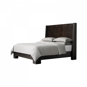 Morse Dark Wood Bed