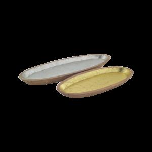 Silver Ob-Long Tray