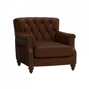 Fleming Pure Leather Armchair