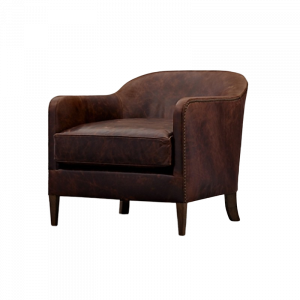 Gytha Pure Leather Armchair