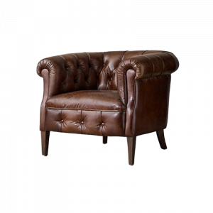 Garrison Pure Leather Armchair