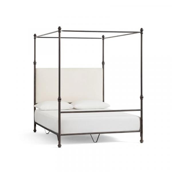 Chloe Iron Canopy bed