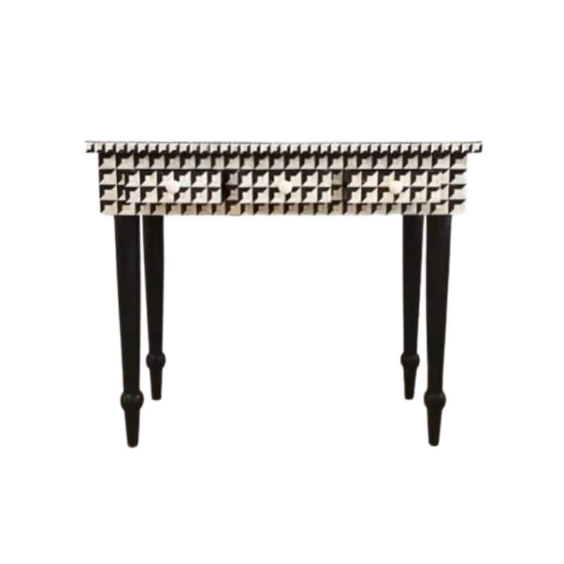 bone inlay console