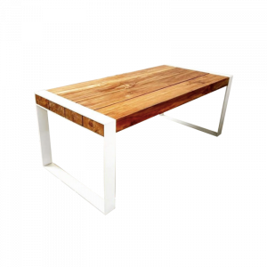 Tamsen Solid Wood Log Dining Table