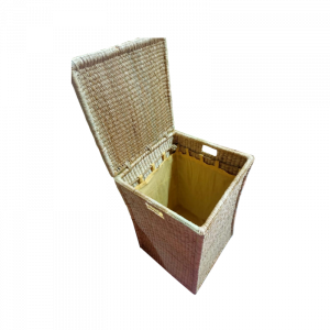 Rectangular Laundry Box with Lining