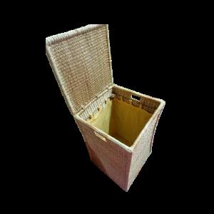 Rectangular Laundry Box with Lining