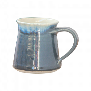 Ceramic Cup Indigo with Brown