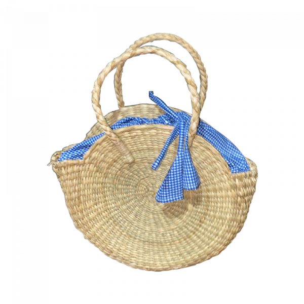 Round fancy Bag with Cloth Finish