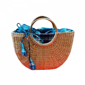 U Shape  Shopping Bag with Cloth Lining