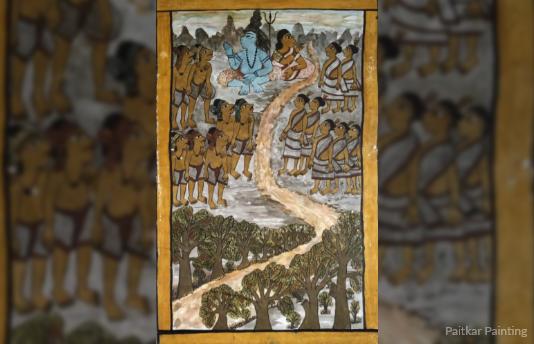 Paitkar Painting