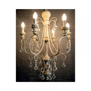 6 Light Chandelier 02L