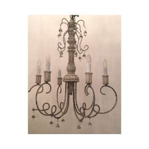 6 Light Chandelier 02E