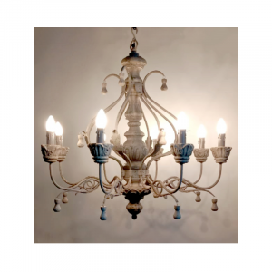 8 Light Chandelier 03D