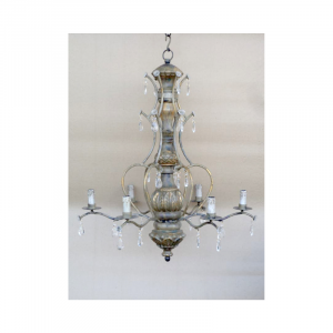 6 Light Chandelier 02I