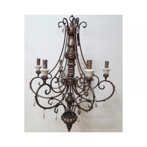6 Light Chandelier 02G