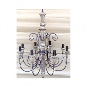 8 Light Chandelier 03E