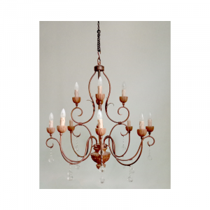 12 Light Chandelier 01B