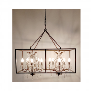10 Light Chandelier 04A