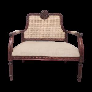 Cane & Wood Chair
