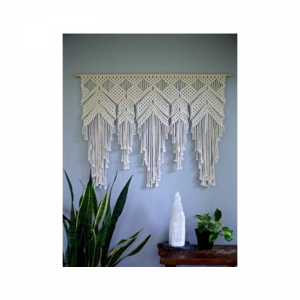 Macrame Hippies Nest  Wall Hanging