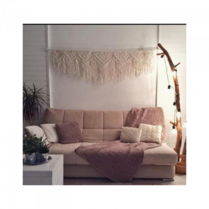Macrame Woven World Headboard/Wall Hanging