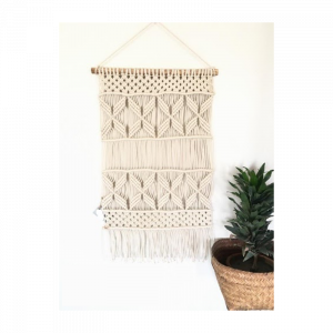 Macrame Plant Your Life Wall Hanging