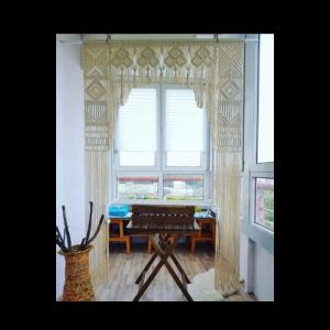 Macrame Grans Treasure Curtains/Room Divider/Door Hanging