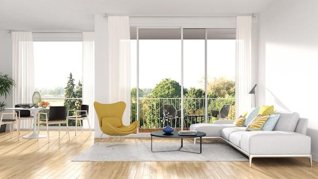 Mid-century Modern Minimalist Home Interiors & Furniture Ideas