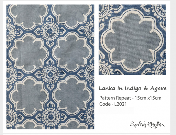 Lanka in Indigo & Agave