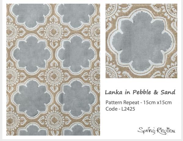 Lanka in Pebble & Sand