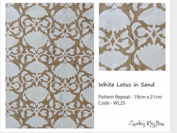 White Lotus in Santstone