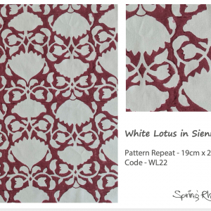 White Lotus in Sienna