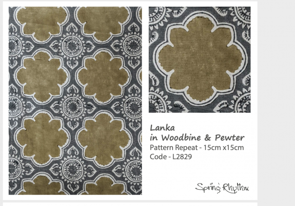 Lanka in Woodbine & Pewter