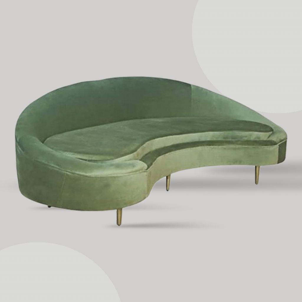 Retro sofa sets for larger