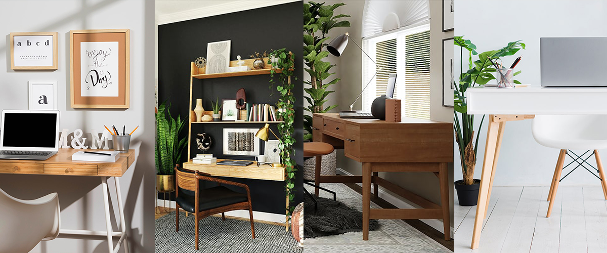 A lot can happen on the table! Various ways to use work desk